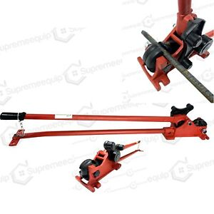 5 8 Manual Rebar Cutter And Rebar Bender 50 Heavy Duty Easy Bend Up To 180