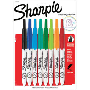 Sharpie Retractable Ultra Fine Point Permanent Marker 1742025