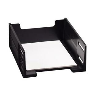 Rubbermaid Stackable Front loading Letter Tray 17671