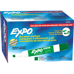 Expo Low Odor Markers 80004