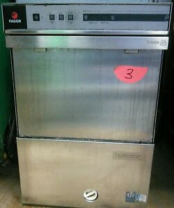 Fagor Commercial Undercounter High Temp Dishwasher Co 502w Ad 21w