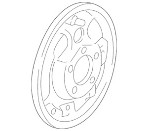 Genuine Ford Backing Plate F65z 2211 Aa