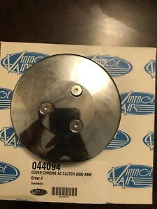 Vintage Air Compressor Clutch Cover 044094