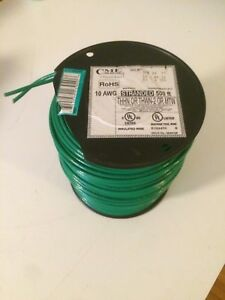 Cme Wire Cable 10 Awg Stranded Machine Tool Green 500 Feet 600v C 10 Thhn 500ft