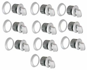10 Ilco Thumbturn Mortise Cylinders 4 Adams Rite Storefront Locks Locksmith A