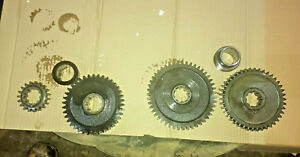 Case 430ck Transmission Lower Gears Spacers Parts 530 530ck 430 540c Tractor