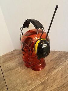Ao Safety Worktunes Am fm Headphone Radio W hearing Protection Noise Reduction