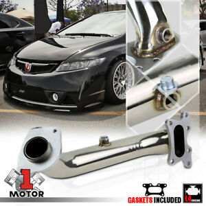 Stainless Steel Exhaust Header Manifold For 06 11 Honda Civic 1 8 Fg1 Fa1 R18a1
