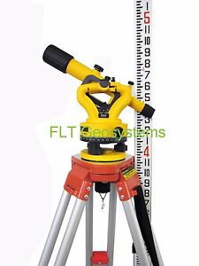 Northwest Nsl500b Builders Transit Level Package With Tripod Level Rod