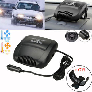 New 12v Plug Car 2 In 1 Ceramic Heating Cooling Heater Fan Defroster Demister Us