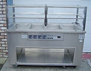 Colorpoint 4 well Electric Food Warmer Stainless Steel Steam Table Deli Buffet