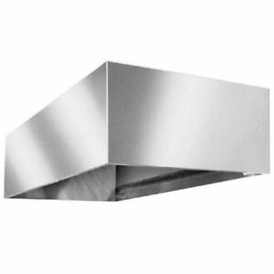 L t Commercial 60 Single Pumping Open Return Air Exhaust Hood Vent System