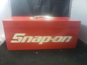 Snap On Portable Carry Tool Box With Tray Vtg 21 9 9 Locking