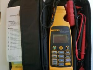 Fluke 773 Milliamp Process Clamp Meter lightly Used great Condition