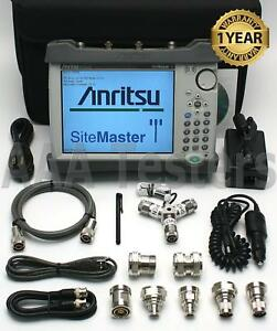 Anritsu Site Master S332e Cable Antenna Spectrum Analyzer Sitemaster S332