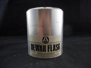 Aldrich Metal 350ml Cylindrical Low Form Dewar Flask Id 7 1 2cm Fits 100ml Flask
