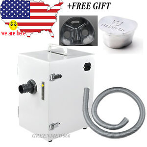 Dental Digital Single row Vacuum Dust Collector Collecting Air Dust Cleaner