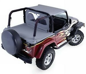 Rampage 992015 Soft Cab Top Replacement Fits 1987 1991 Jeep Wrangler Yj
