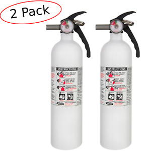 2 Kiddie Fire Extinguisher Dry Chemical Auto Marine Car Boat Garage