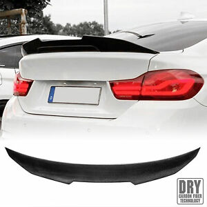 Real Carbon Fiber Trunk Spoiler Wing For Bmw 13 20 F32 4 Series 428i 435i Coupe
