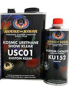 House Of Kolor Usc01 Kosmic Urethane Show Klear gallon W Katalyst hok usc01g
