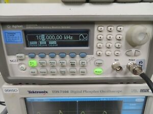 Agilent 33220a 20 Mhz Function Arbitrary Waveform Generator Ng22