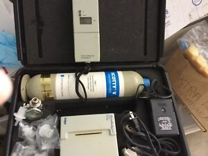 Draeger Breathalyzer 7410 Complete With Printer In Case