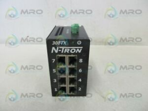 Opto22 308tx n Ethernet Switch New No Box