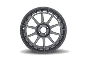 One 17x8 Rota Recce 4x100 25 Magnesium Black Wheels Rims