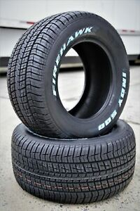 2 Tires Firestone Firehawk Indy 500 275 60r15 107s Performance All Season