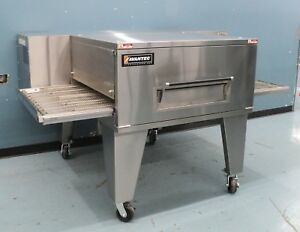 Conveyor Pizza Oven 32 Wide Belt 40 Cooking Chamber Gas Fired Avantec 3242