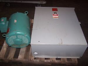 Arco Roto phase 75 Hp 1 To 3 Phase Rotary Phase Converter 230 Vac Model Chdelv20