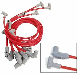Red Super Conductor Big Block Chevy For Use With Low Profile Distributor