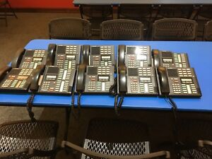 Nortel Office Phone System Meridian System Package 10 Phones