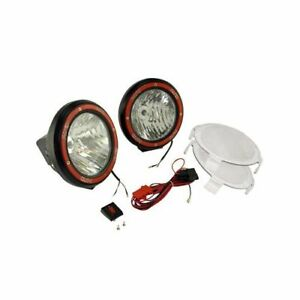 Rugged Ridge Hid Off Road Lights 35w Round 5 Dia Clear Lens 1520554