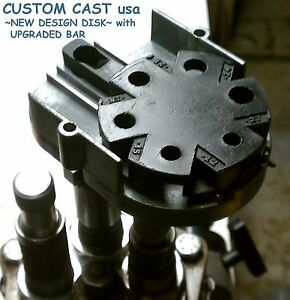 CUSTOM CAST ENHANCED METERING DISK compatible with LEE AUTO-DISK POWDER MEASURE