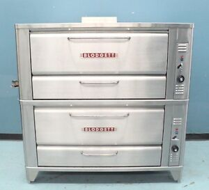 New Blodgett Pizza Oven 951 Double Stack Gas Fired Pizza Oven Bakery Oven