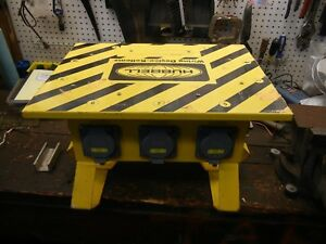 Hhubbell Power Distribution Box Spider Wiring Device Sbs1a 50 Amp 120 240 Vac