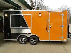 2019 Us Cargo Brand New Enclosed Concession Trailer Food Truck Vending