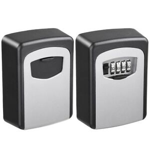3 Wall Mount Security Key Safe Digit Combination Storage Lock Box Case Organizer