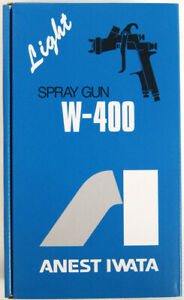 Anest Iwata W 400 251g Center Cup Gravity Spray Gun 2 5mm Cup Sold Separately
