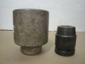 Snap On Tools 1 Drive 2 1 2 6 Point Socket L 803 And Cornwell 1 1 16 Impact 1b