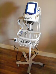 Welch Allyn Spot Vital Signs Patient Monitor Lxi 45nto Nibp Temp Spo2 W Stand