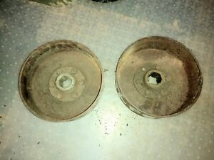 John Deere B Tractor Brake Drums Jd 2 Cylinder Parts Brakes 50 2 Set Jd Drums