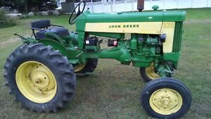 John Deere 330 S Tractor With 3 Pt And Good Tires Serial 330434