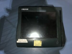Micros Workstation 4 System Ws4 Unit Pos Touchscreen