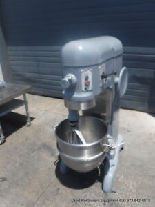 Hobart H 600 Bakery Donut Pizza Dough Mixer 60 Qt W Bowl Paddle 115 Volts
