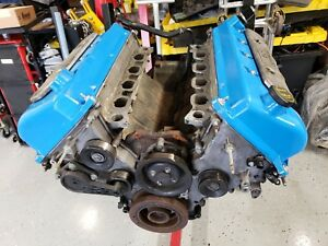 2003 2004 Ford Mustang Cobra Svt 4 6 Engine Long Block Manley Kellogg Heads