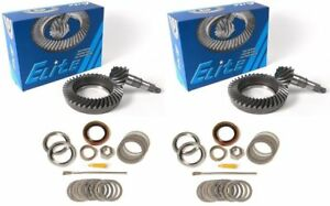 Wagoneer Scout Dana 44 5 38 Ring And Pinion Mini Install Elite Gear Pkg