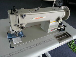 Yamata Fy5318 Walking Foot Sewing Machine Fy 5318 Servo Motor stand Commercial
